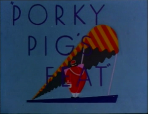 Porky Pig's Feat (Redrawn Colorized)