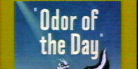Odor of the Day