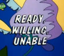 Ready, Willing, Unable
