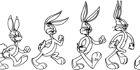 Evolution of Bugs Bunny
