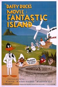 Daffy Duck's Fantastic Island Poster