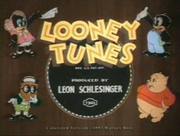 Looney Tunes logo (Porky's Poultry Plant)