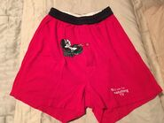 Pepe le Pew Men's Boxers, Size Small