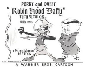 Robin Hood Daffy Lobby Card