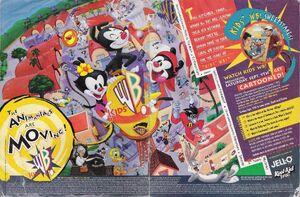 KidsWB print ad 1995