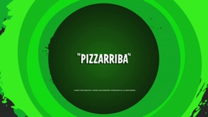 Pizzaribba title card