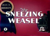 Sneezing weasel