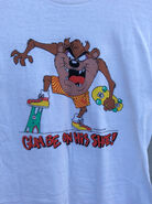 80s Gumby and Taz Tshirt - Vintage 80s T-shirt - Deadstock - 80s Clothing - Tazmanian Devil - Gumby and Pokey - 1987 Size Medium - Skater
