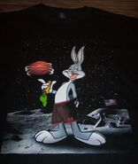 WB LOONEY TUNES BUGS BUNNY BASKETBALL SPACE JAM T-Shirt MEDIUM NEW