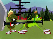 Marvin, K-9, and a bazooka