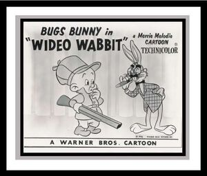 Wideo Wabbit (MM, McKimson) - Starring Elmer