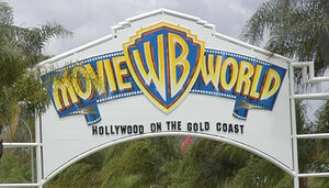 Movie World Entrance