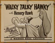 8x10 walky talky hawky