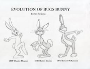 Evolution of bugs bunny 2
