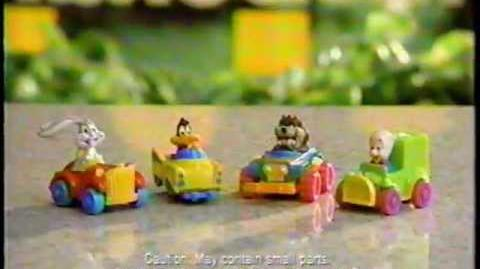 McDonald's Looney Tunes Cars
