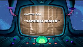 Samurai Quack-title