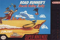 Road Runner's Death Valley Rally Coverart