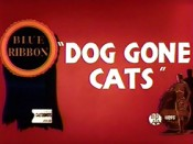 Dog gone cats