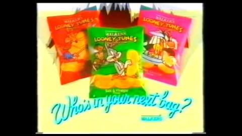 Walkers Loony Toons Picture Crisps - Early 90's Commercial