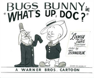 What's Up Doc Lobby Card