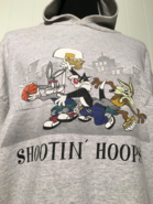 Vintage Looney Tunes 90s basketball longsleeve hoodie by acme clothing
