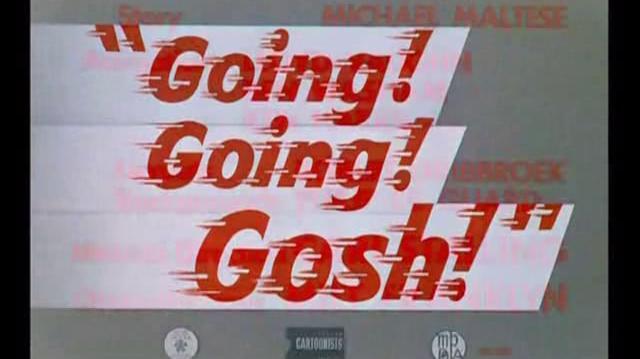RoadRunner - Going! Going! Gosh!