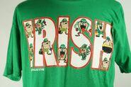 Taz Looney Tunes Irish T-Shirt Large Tazmanian Devil Vintage New with Tags NWT