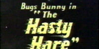 The Hasty Hare/Gallery