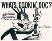 What's Cookin' Doc Lobby Card