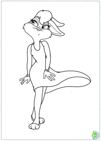 File:Lola Bunny coloring page.jpg