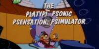 The Platypi Psonic Psensation Psimulator