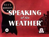Speaking weather