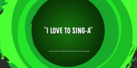 I Love To Sing-A