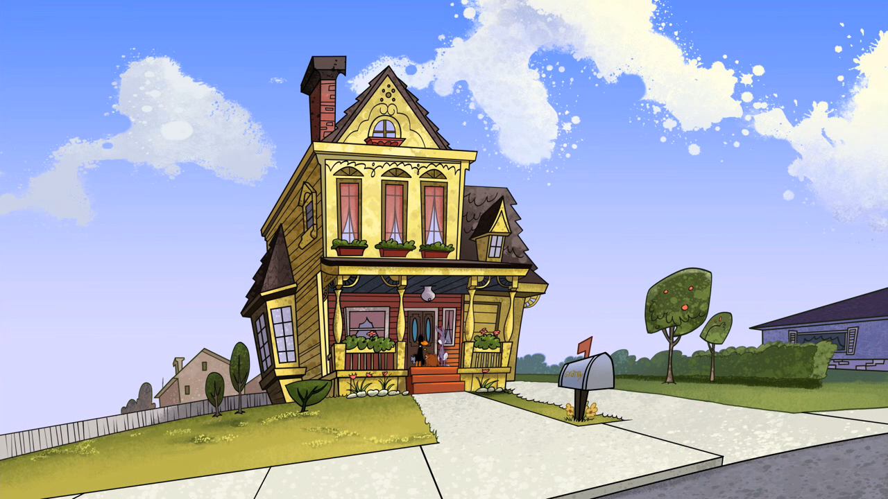 Granny 39 S Mansion The Looney Tunes Show Wiki Fandom