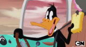 Daffy Stealing Elmer's Grilled Chese