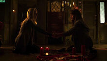 Kenzi and Lauren conjure spirits (502)-1