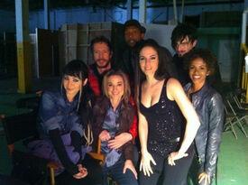 Season 2 bts - Cast on set