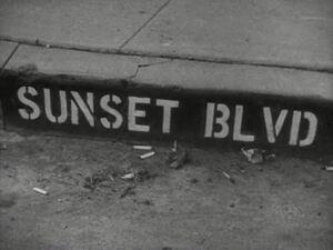 Sunset Blvd Title