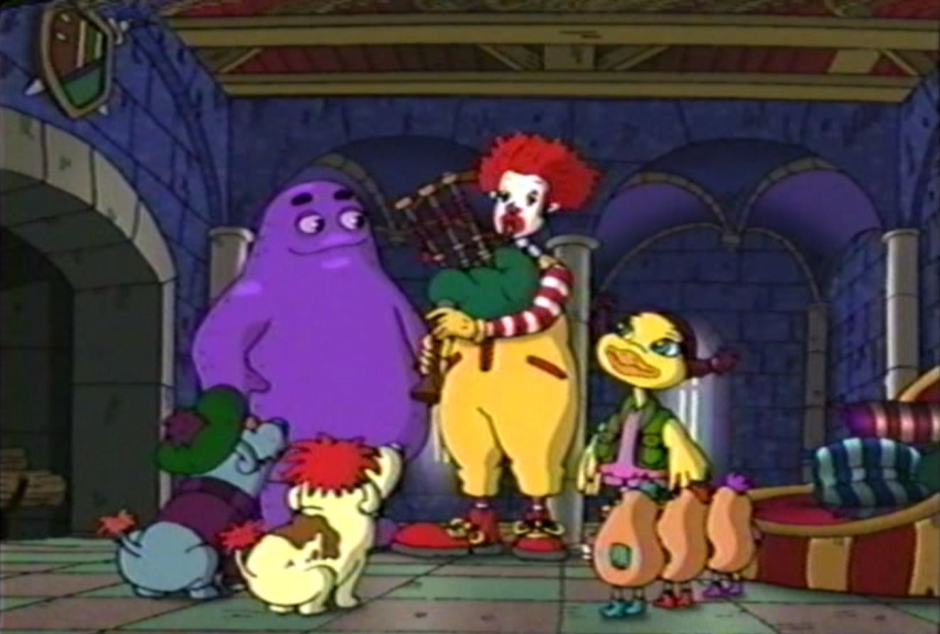 The Wacky Adventures Of Ronald Mcdonald Have Time Will Travel