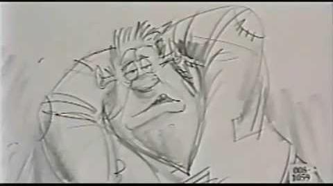 Chris Farley as Shrek -- Lost footage found!-0