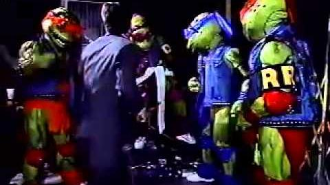 Teenage Mutant Ninja Turtles - Coming Out of Their Shells Tour