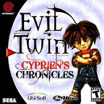 SEGA dreamcast Evil twin cypriens chronicles