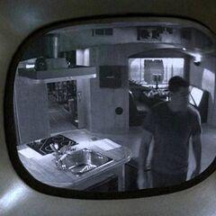 Kamera zamontowana w Łabędziu