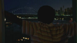 Walt overlooking - Sydney Harbour Bridge.JPG