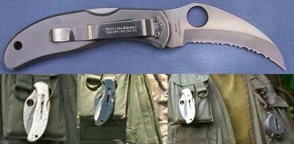 Cuchillo Spyderco Harpy