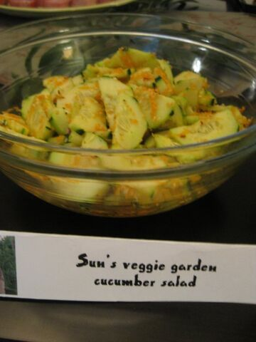 File:Sun's Veggie Garden Cucumber Salad.jpg