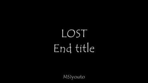Lost - End title