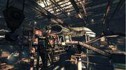 Overland Battelship in construction