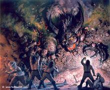 Ted Nasmith - The Dwarves Delve Too Deep.jpg