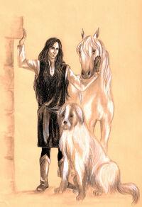 Turkafinwe in Valinor by Filat